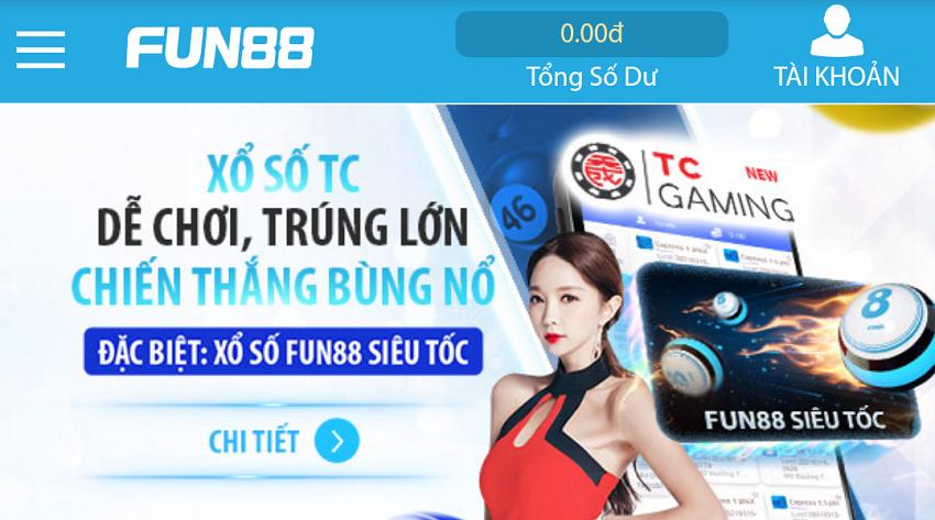 fun88 đăng nhập